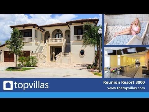 Reunion Resort 3000 - Luxury Orlando Villa near Disney with Bowling Alley