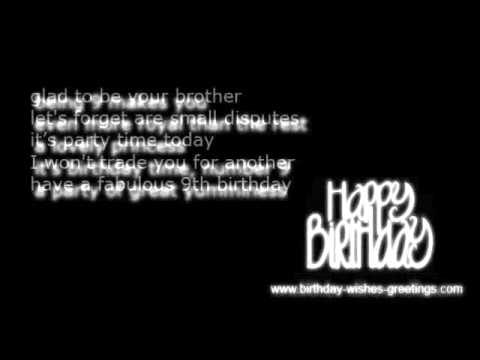 9th Birthday Wishes And Greetings Boys And Grils YouTube