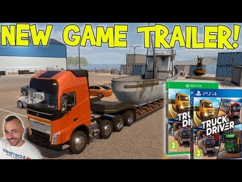 Truck Driver BRAND NEW TRAILER   PS4/XBOX ONE