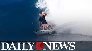 Pro surfer Zander Venezia dead at 16 following accident in Hurricane Irma swell