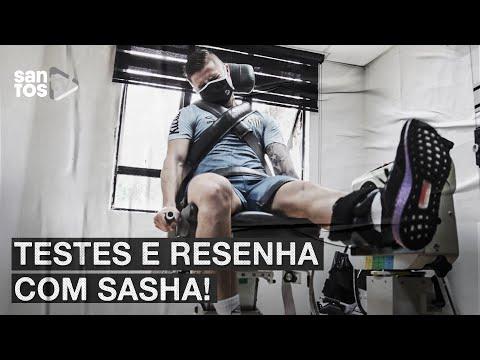 TESTES E RESENHA COM SASHA, NO CT REI PELÉ