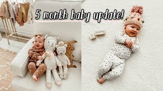 5 month baby update + taco bell date!!