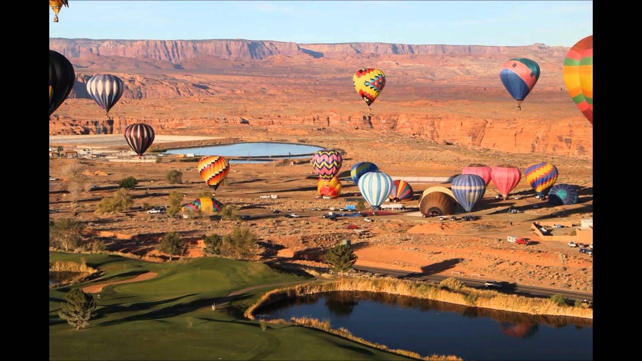 Time Lapse: Balloon Regatta. Page, AZ