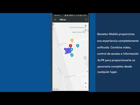 Mantén a tu equipo sincronizado con Genetec Mobile