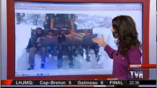 L'hiver algérien vu du Québec ...