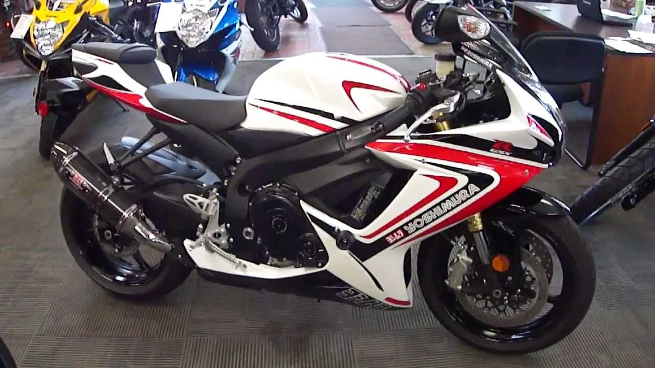 Santa Monica Honda >> 2012 Suzuki GSX-R750 Yoshimura Special Edition - YouTube