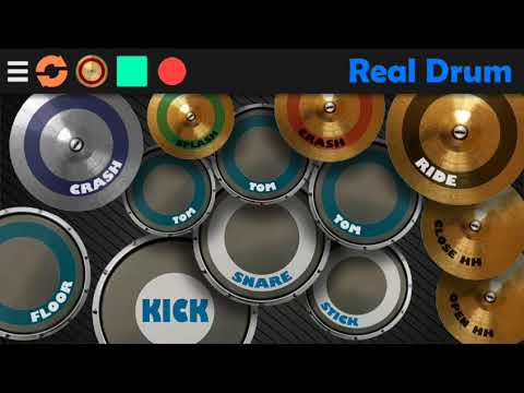 Real drum reggae