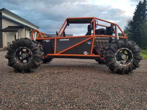 DIY buggy project 900cc 4x4 offroad