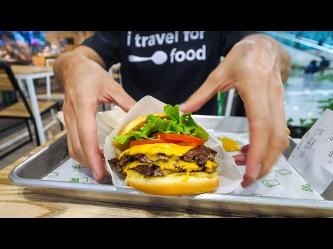 Tour of Seoul Incheon International Airport - LOUNGE, ROBOTS + Shake Shack!