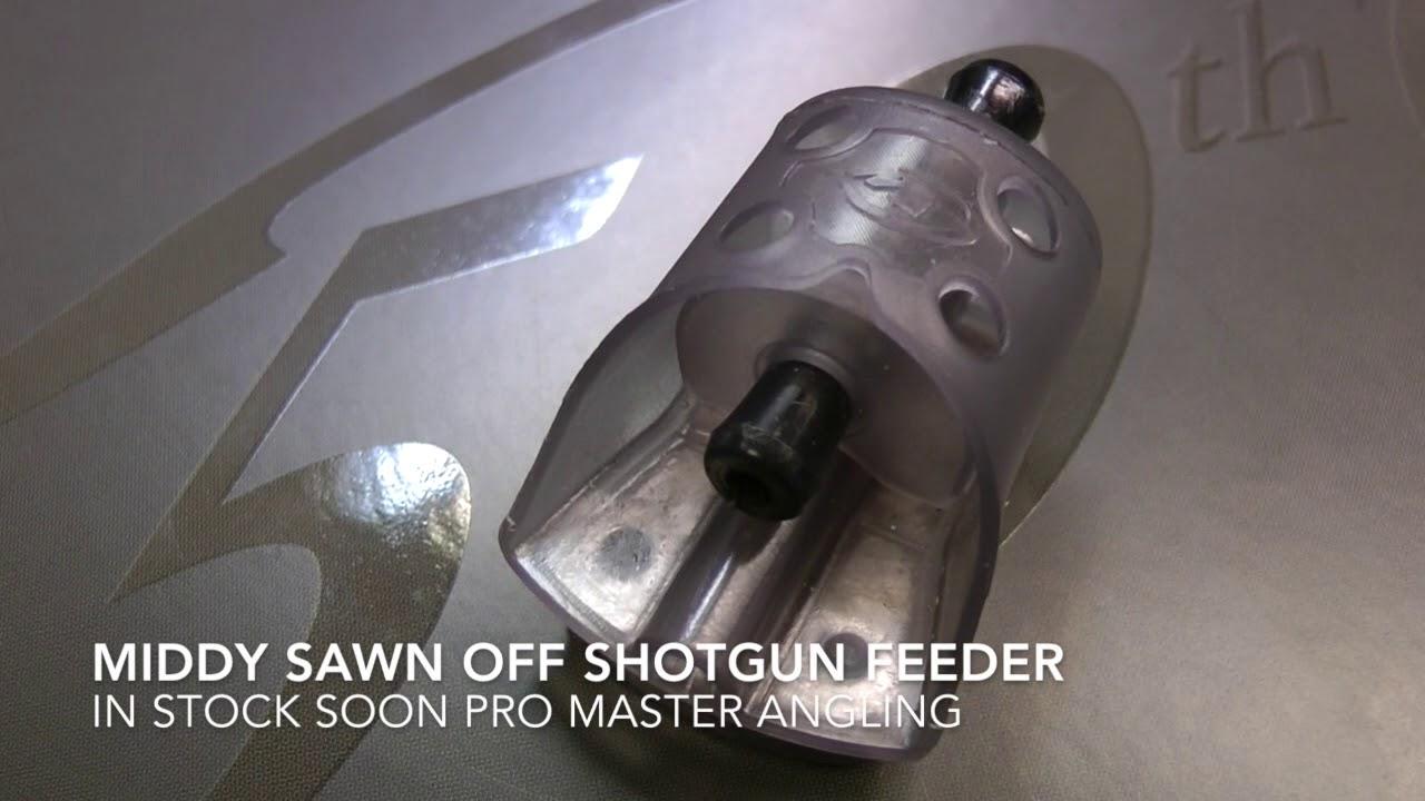 Middy Sawn Off Shotgun Feeder Pro Master Angling Youtube