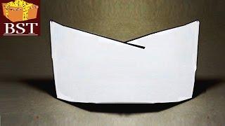 как сделать пионерскую пилотку из бумаги своими руками размеры
