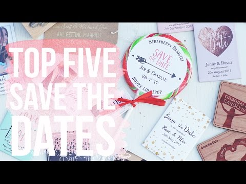 Top 5 Save The Date Ideas