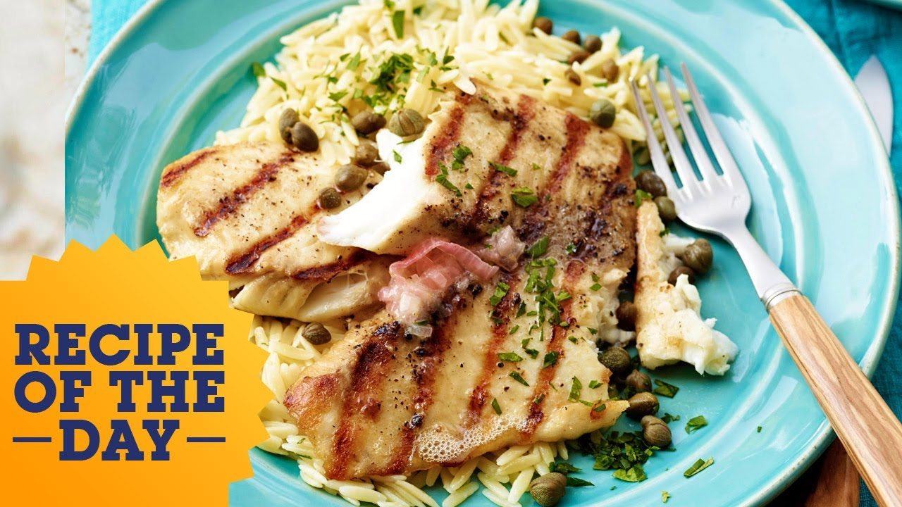 Recipe Of The Day Bobby Flay S 5 Star Grilled Tilapia Food Network