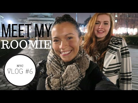 MEET ONE OF MY ROOMMATES | NYC VLOG #6