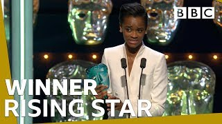 Letitia Wright wins Rising Star BAFTA 2019  BBC