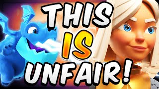THIS DECK IS LIKE CHEATING! NERF THESE CARDS! — Clash Royale