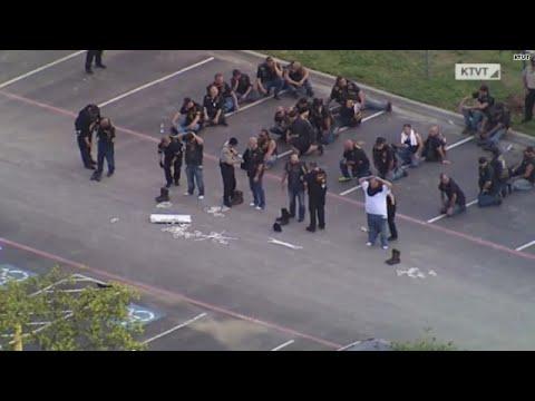 Waco, Texas biker shootout, at least 170 arrests made