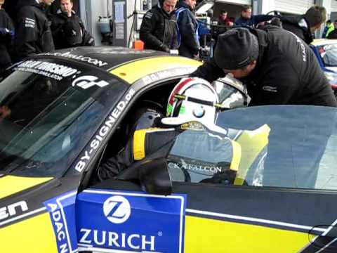 24 hours of Nurburgring. Fast pit-stop.