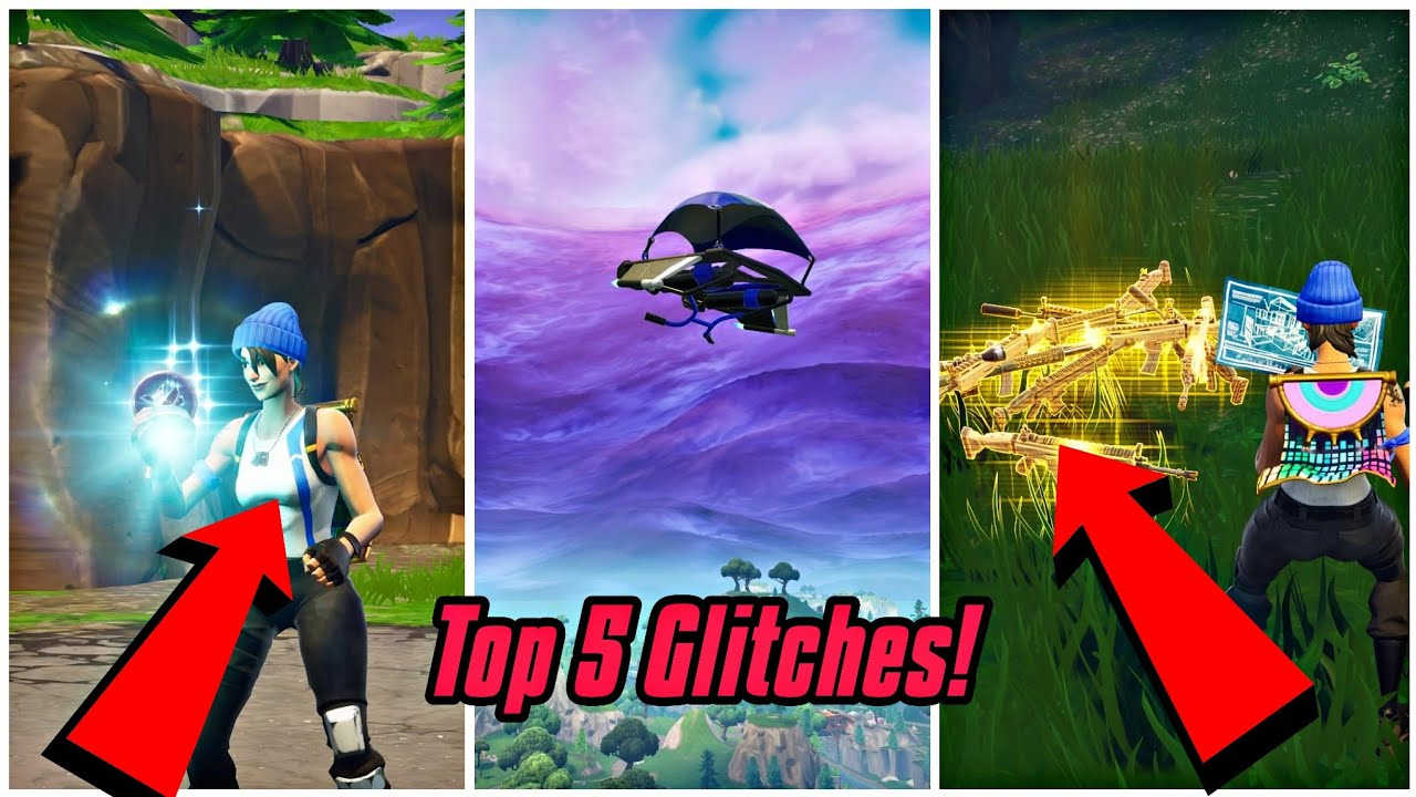 Top 5 Working Glitches In Fortnite Become Invisible Fortnite Glitches Ps4 Xbox One 2018 Youtube