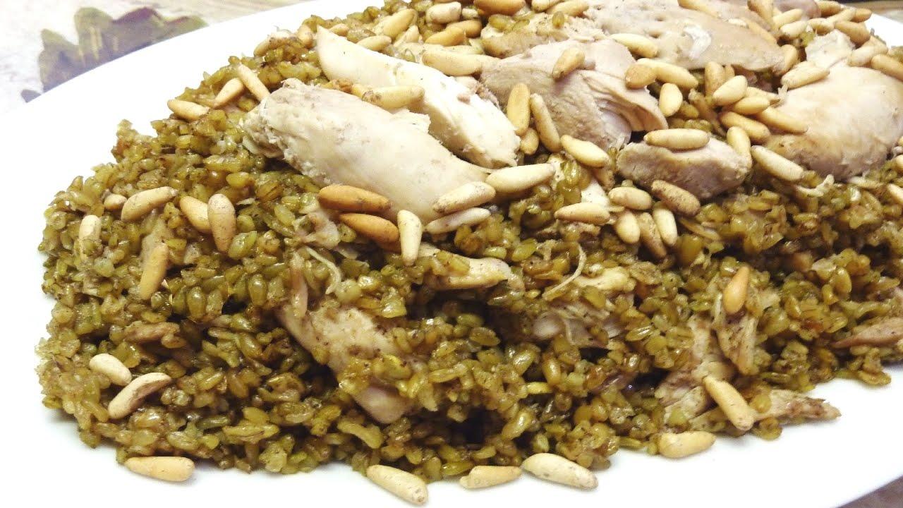 Freek (or Freekeh) - the Green Wheat dish