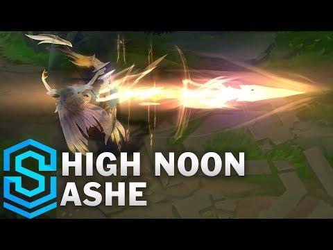 High Noon Ashe Skin Spotlight - League of Legends