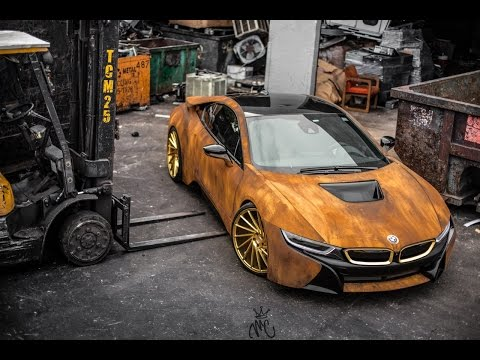 BMW Customized to Look Like a Post-Apocalyptic Car Covered in Rust