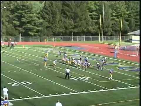 Logan(Number 77)  Football Hampton Middle School VS Knoch Middle School