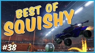 BEST OF C9 SQUISHY | DOUBLE TAPS, FLIP RESETS, CEILING SHOTS AND MORE | HIGH LEVEL ROCKET LEAGUE #38