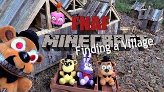 FNAF plush Minecraft 16- Finding a Village