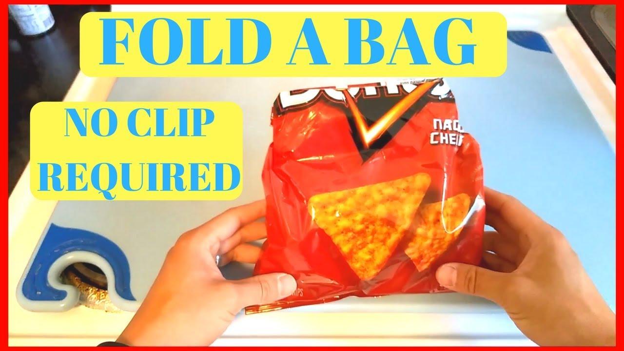 How do you close a bag of chips