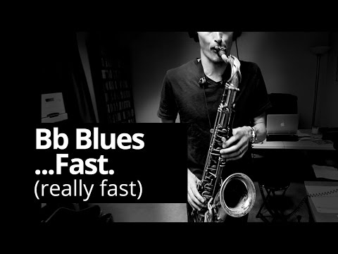 Fast Bb blues - Real Sax Daily #18