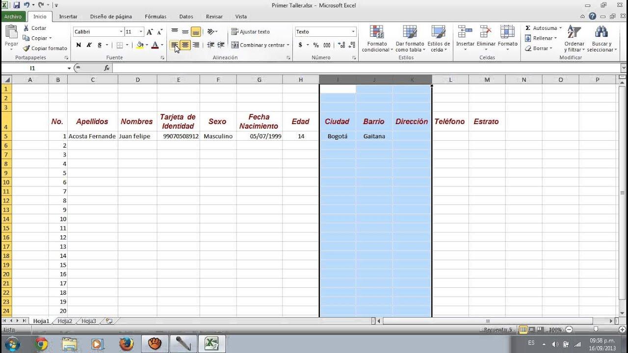 Increíble Excel Plantilla De Hoja De Trabajo Festooning - Colección ...