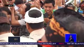 Prabowo Disambut Ribuan Pendukungnya di Bali NET12