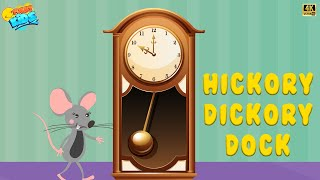 Hickory Dickory Dock | Animation Rhymes For Kids | Funny Kids | Kids Songs & Kids Rhymes