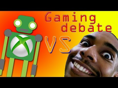 GAMING DEBATE | TeAndre VS BBC - Kinect, Features, XBL, PSN, VALUE