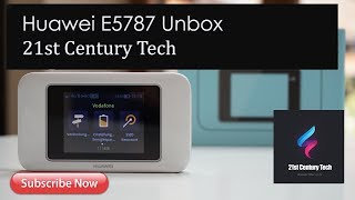 Huawei E5787 Portable LTE Router Unboxing