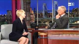 Michelle Williams @ David Letterman Show 19/02/13 SUB ITA