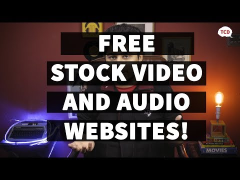 DOWNLOAD FREE VIDEOS AND MUSIC FOR YOUR FILMS! (All the best websites in this video)