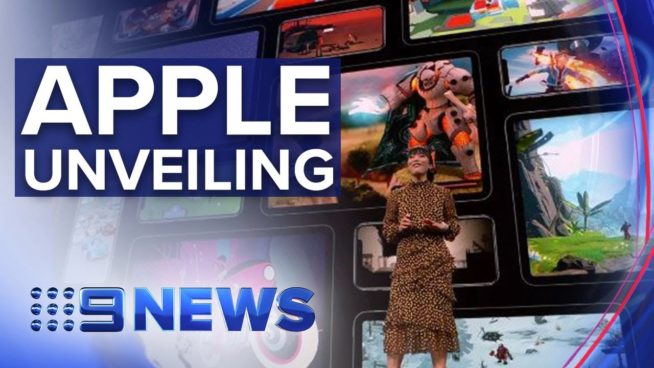Tech giant Apple unveils new TV streaming service | Nine News Australia