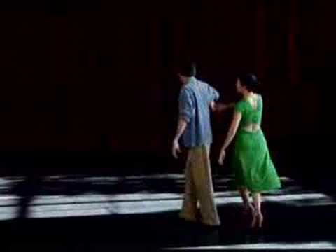 Cross-Step Waltz with Richard Powers and Angela Amarillas