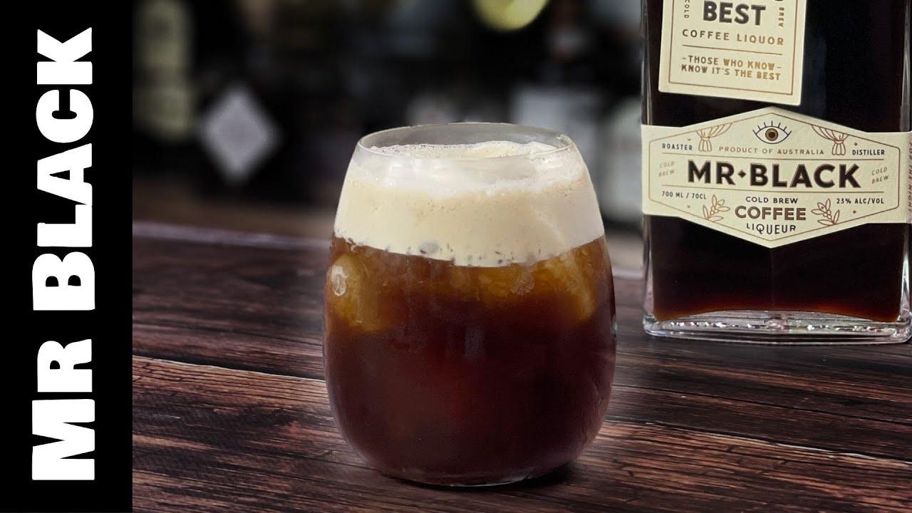 Mr Black Coffee Cocktails - a COLA Espresso Martini