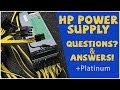 HP ProLiant DL380p Gen8 Server series RemoveReplace PSU