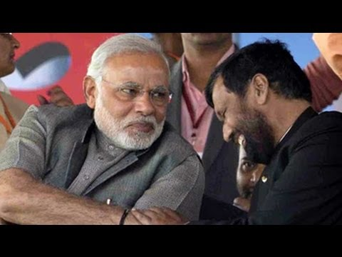 Ram Vilas Paswan No Hypocrite Like Some Narendra Modi S Swipe At Nitish Kumar At Bihar Rally Youtube