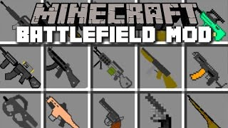 Minecraft BATTLEFIELD MOD / WAR WITH ENEMIES IN THE AIRPORT AND DEFEAT THEM!! Minecraft