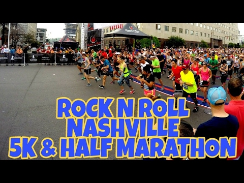 2017 Rock N Roll Nashville 5K & Half Marathon (Same Day!)