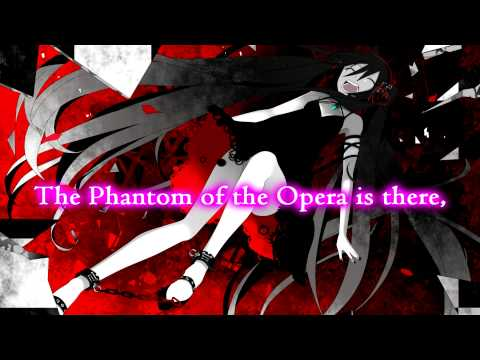 Phantom of the Opera - Nightcore - Lyrics on the Screen!