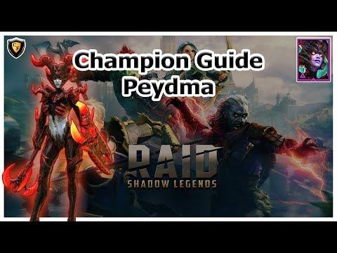 RAID Shadow Legends | Champion Guide | Peydma