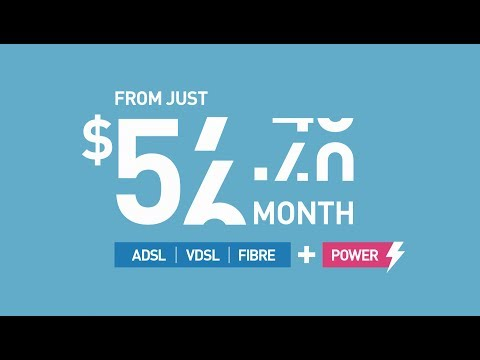 Broadband from $59.95 + add POWER to save more!