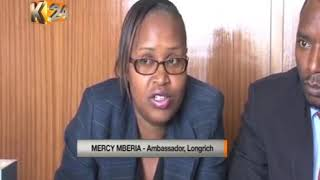 LONGRICH KENYA ON K24 NEWS