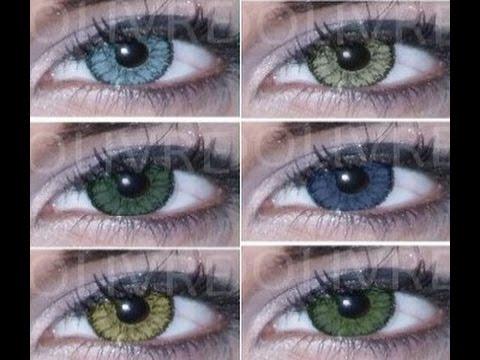 d6555f5572 Lentes de contato coloridas baratas Soflens Star Bausch Lomb comprar -  YouTube